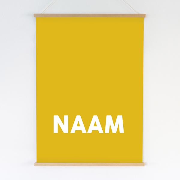 Poster XL met naam ANNIdesign Ontwerp naar keuze
