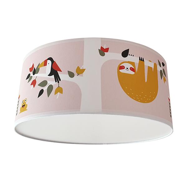 Plafondlamp Jungle oud roze ANNIdesign S01