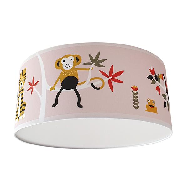 Plafondlamp Jungle oud roze ANNIdesign S03