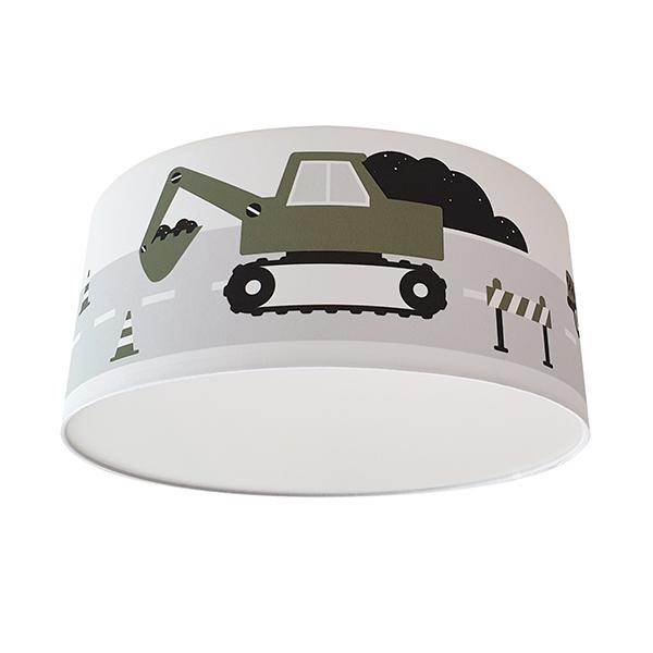 Plafondlamp Voertuigen olijf groen_ANNIdesign 02
