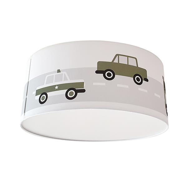 Plafondlamp Voertuigen olijf groen_ANNIdesign 03