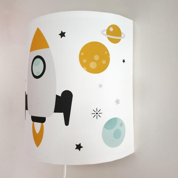 Wandlamp Raket wit ANNIdesign S02