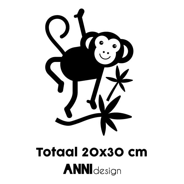 Muursticker Aap ANNIdesign 02
