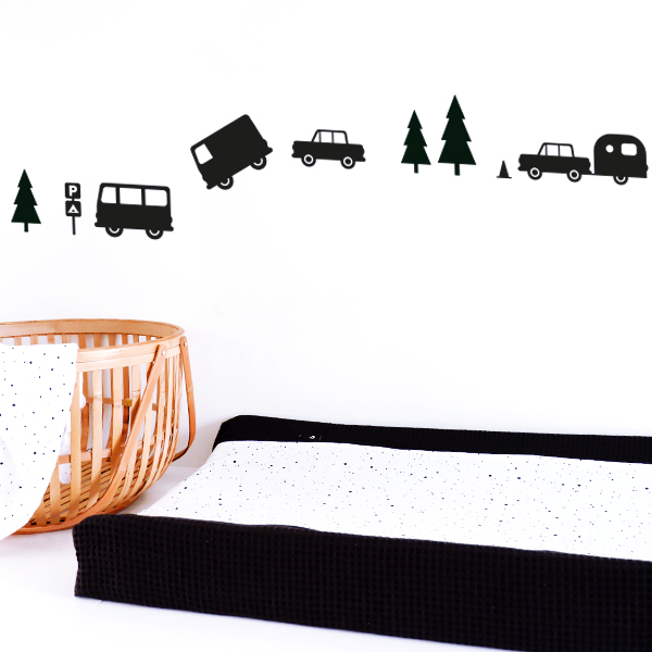 Muursticker Caravan ANNIdesign 01