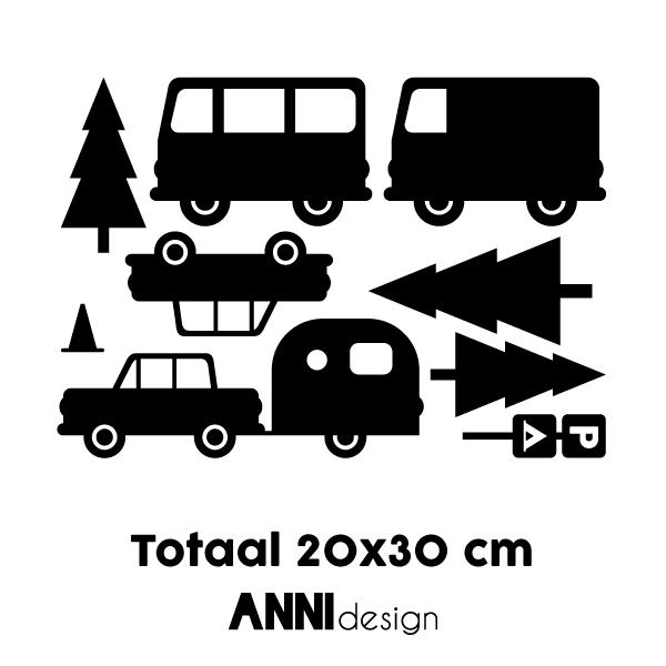 Muursticker Caravan ANNIdesign 03