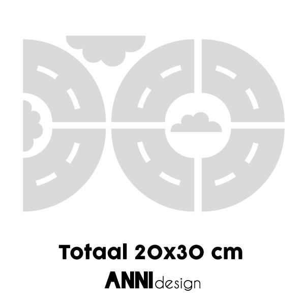 Muurstickers Wegdelen bochten_ANNIdesign_03